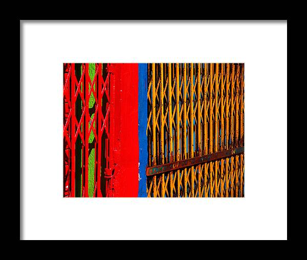Gilded Cage Framed Print featuring the photograph Gilded Cage by Skip Hunt