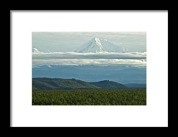 Landscape Framed Print featuring the photograph Heaven and Earth by Jim and Kim Shivers