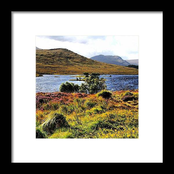 Beautiful Framed Print featuring the photograph Highlands by Luisa Azzolini