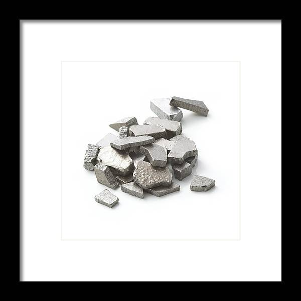 Chemical Framed Print featuring the photograph Iron by