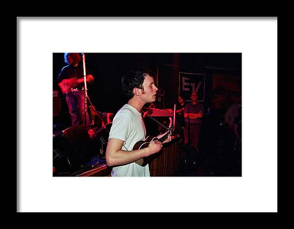 Jens Lekman Framed Print featuring the photograph Jens Lekman by Gary Smith