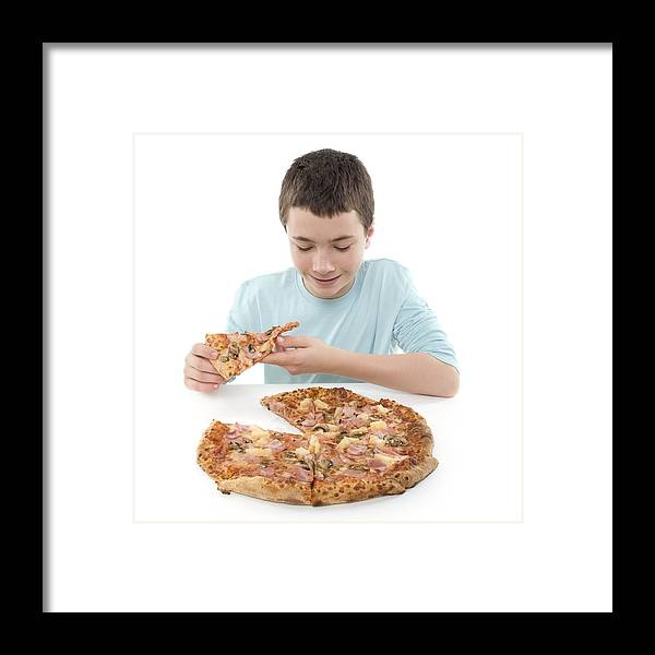 12-13 Years Framed Print featuring the photograph Junk Food by