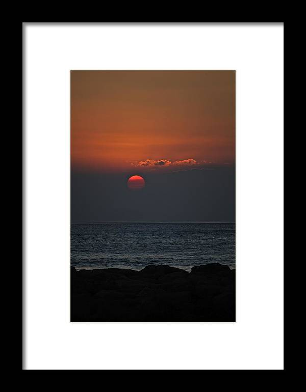Koolina Framed Print featuring the photograph Ko Olina Sunset 2 by Eddie Freeman