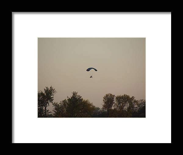 Paraplane Framed Print featuring the photograph Learning To Fly by Bonfire Photography