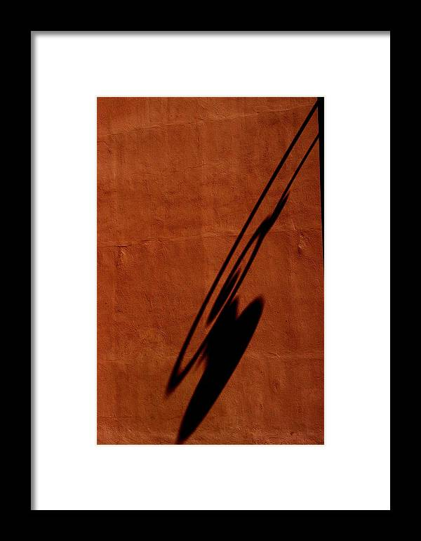 Burnt Orange Framed Print featuring the photograph Light by Joseph Yarbrough