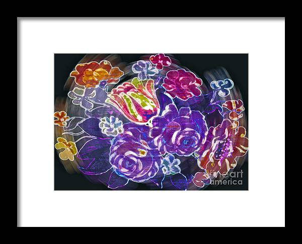Flower Framed Print featuring the photograph Lost Treasures by Gwyn Newcombe