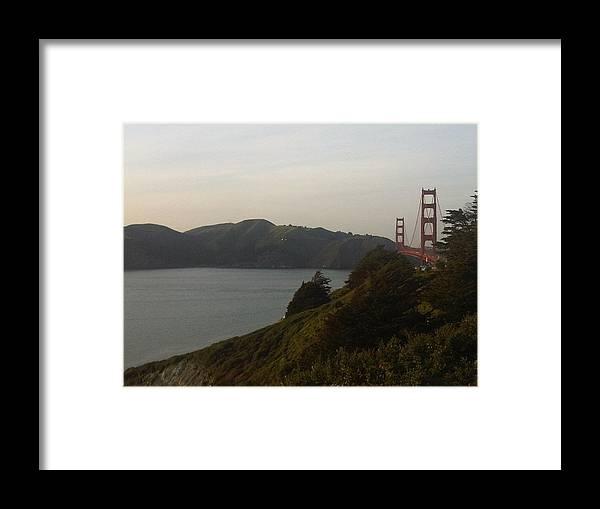 Marin Headlands Framed Print featuring the photograph Marin Headlands by Nimmi Solomon