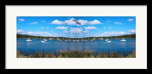 Marina Park Framed Print featuring the photograph Marina by Lourry Legarde
