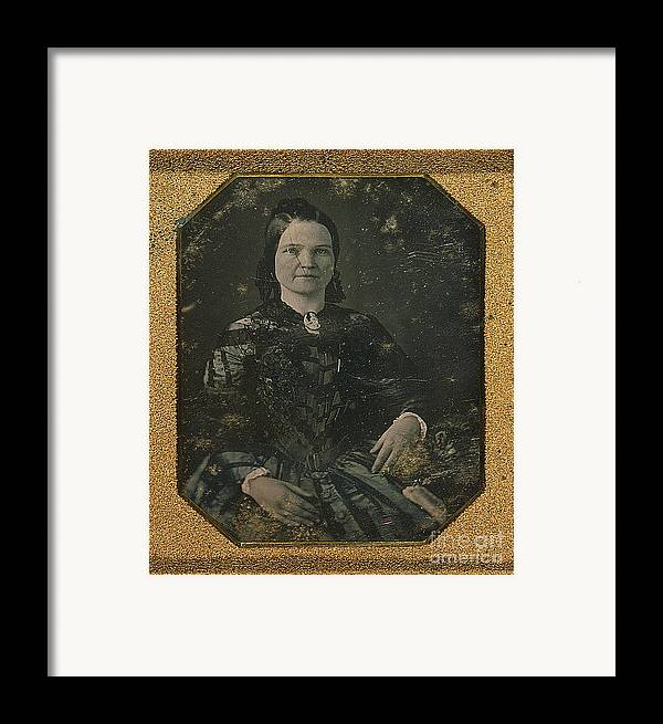 History Framed Print featuring the photograph Mary Todd Lincoln, First Lady by Photo Researchers