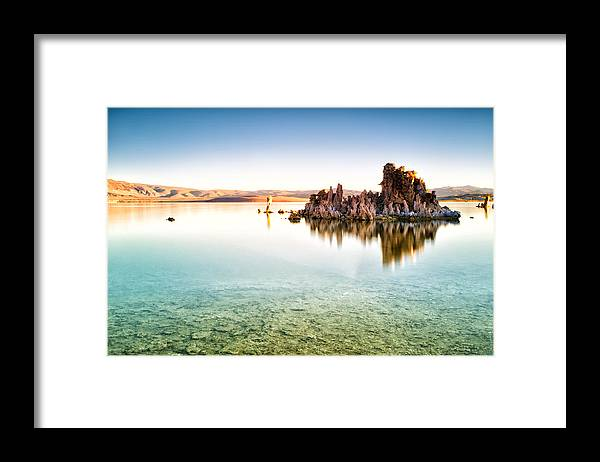Mono Lake Framed Print featuring the photograph Mono Lake Sunrise by Tanya Harrison