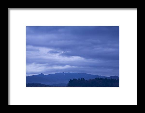 Sunrise Framed Print featuring the photograph Moody Sky At Dawn by Ian Middleton