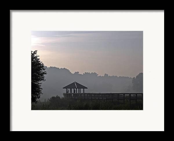 Fog Framed Print featuring the photograph Morning Fog by Farol Tomson