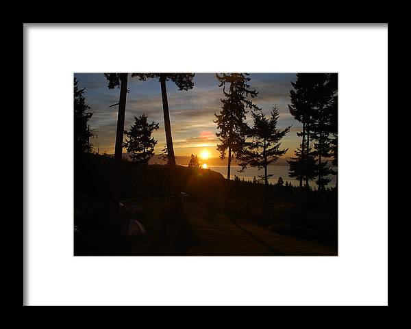 Morning Framed Print featuring the photograph Morning Sky by Michael Merry