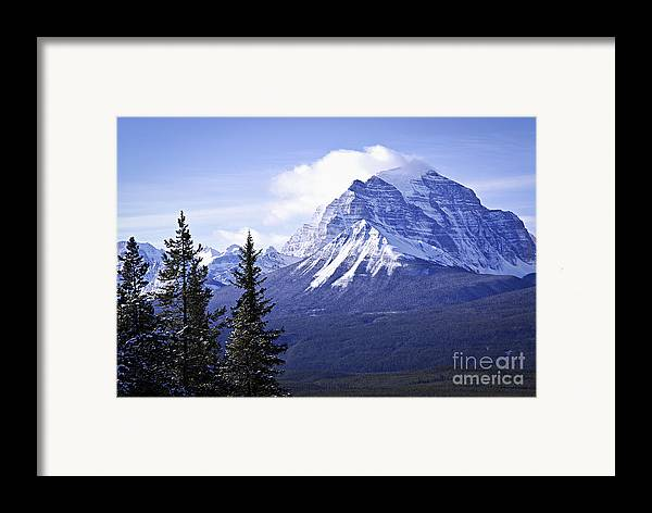 Mountain Framed Print featuring the photograph Mountain Landscape by Elena Elisseeva