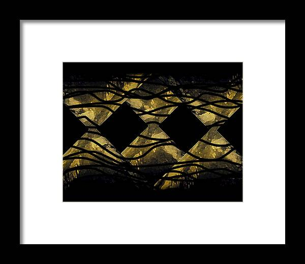 Framed Print featuring the digital art My Spare Time by Mihaela Stancu