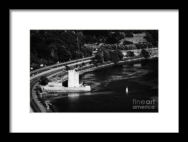 County Framed Print featuring the photograph Narrow Water Castle Warrenpoint by Joe Fox