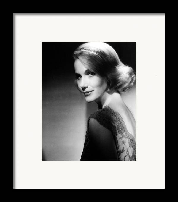 1950s Portraits Framed Print featuring the photograph North By Northwest, Eva Marie Saint by Everett