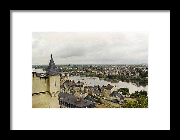 Old Framed Print featuring the photograph old French town by Aleksandr Volkov