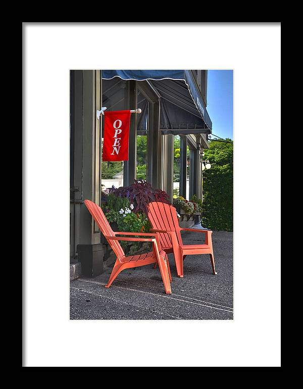Open Framed Print featuring the photograph Open by Brian Mollenkopf