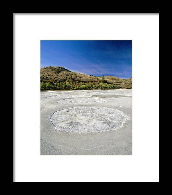 Salt Lake Framed Print featuring the photograph Salt Lake by David Nunuk