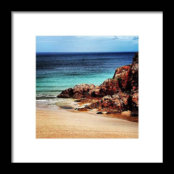 Beautiful Framed Print featuring the photograph Scotland by Luisa Azzolini