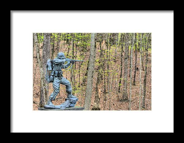 Semper Fi Framed Print featuring the photograph Semper Fi by JC Findley