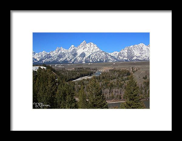 Snake River Framed Print featuring the photograph Snake River Overlook by Rick Thiemke