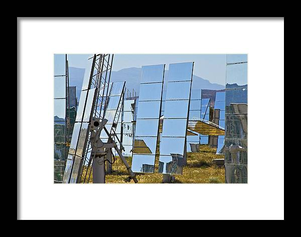 Equipment Framed Print featuring the photograph Solar Furnace, Spain by Chris Knapton