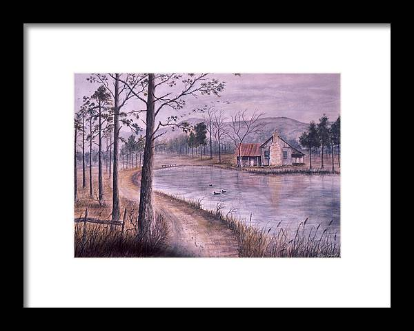 Morning Framed Print featuring the painting South Carolina Morning by Ben Kiger