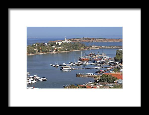Sozopol Framed Print featuring the photograph Sozopol Harbour by Tony Murtagh