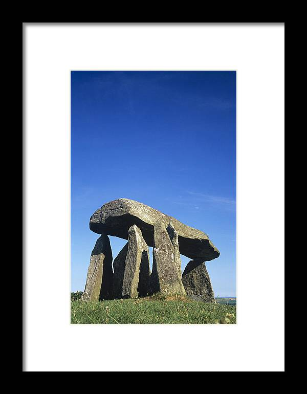 Burial Site Framed Print featuring the photograph Standing Stones by Duncan Shaw