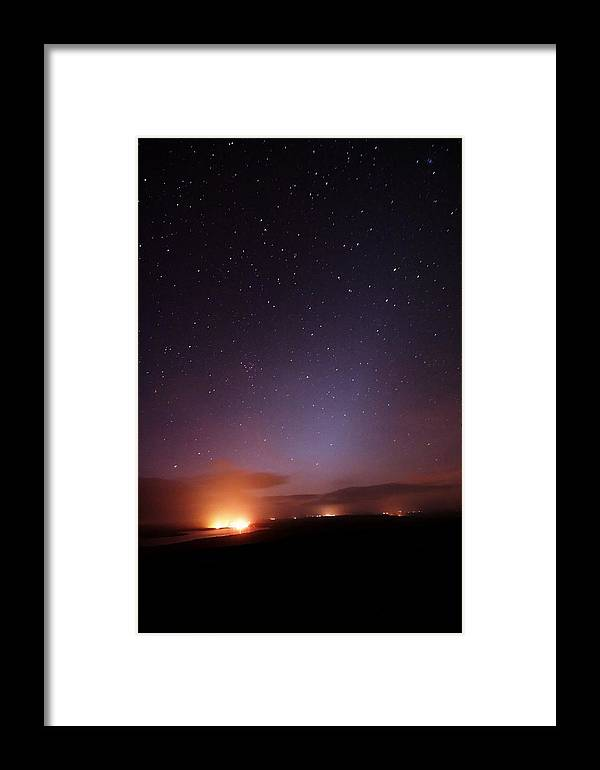 France Framed Print featuring the photograph Stars In A Night Sky by Laurent Laveder