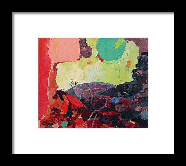 Stones Framed Print featuring the painting Start Leaving Things Behind by Missy Borden