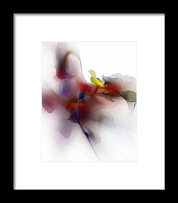 Fine Art Framed Print featuring the digital art Still Life by David Lane