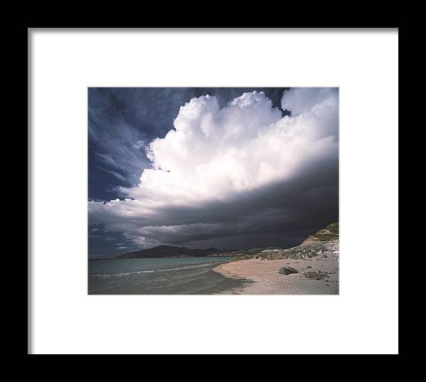 Storm Framed Print featuring the photograph Storm Clouds by Michael Marten