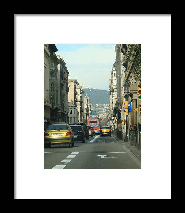 Cars Framed Print featuring the photograph Streets Ahead by Daniel Vaz