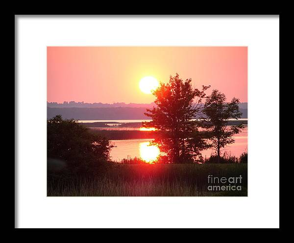 Sunset Framed Print featuring the photograph Sunset Ambience by Ronald Tseng