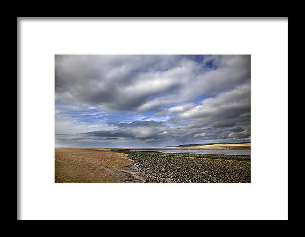 Taw Torridge Estuary Framed Print featuring the photograph Taw Torridge Estuary by Dr Keith Wheeler