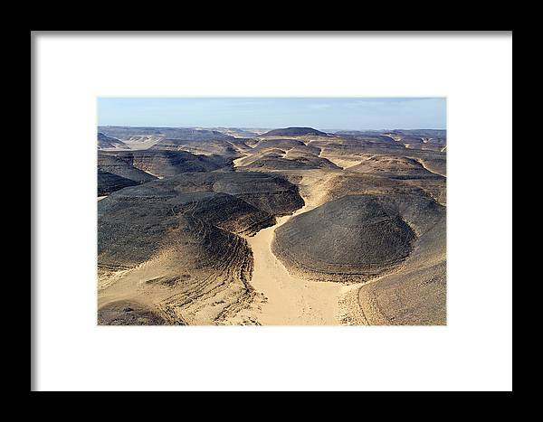 Landscape Framed Print featuring the photograph The Barren Yet Beautiful Basalt by Michael Fay