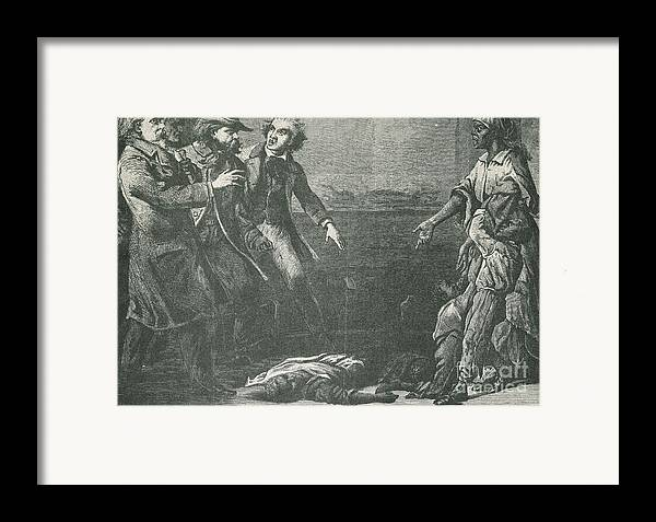America Framed Print featuring the photograph The Capture Of Margaret Garner by Photo Researchers