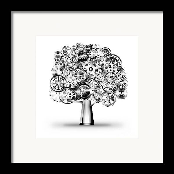 Art Framed Print featuring the photograph Tree Of Industrial by Setsiri Silapasuwanchai