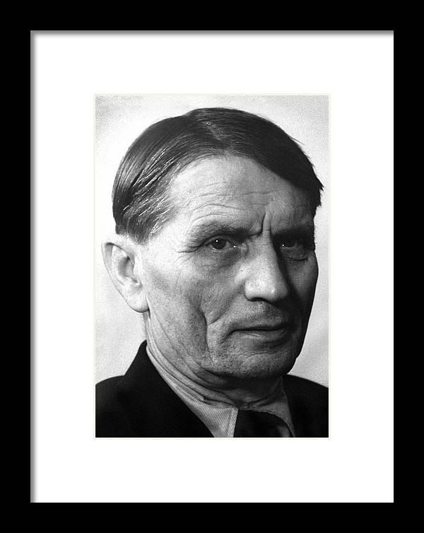 Lysenko Framed Print featuring the photograph Trofim Denisovich Lysenko, Russian Biologist by Ria Novosti