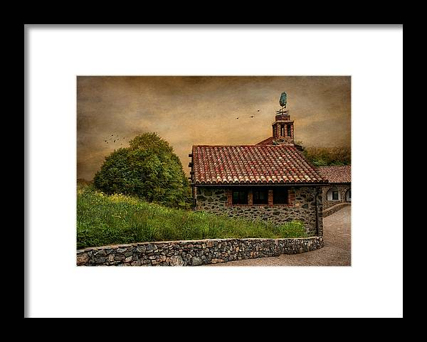 Antiquity Framed Print featuring the photograph Tucked Away II Set by Robin-Lee Vieira