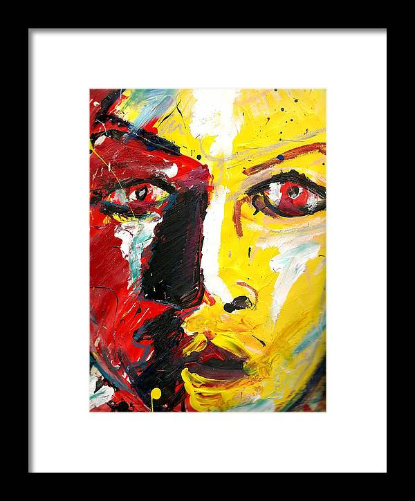Framed Print featuring the painting Untitled 2011 by Gustavo Ramirez