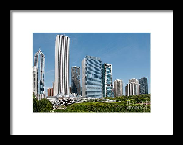 Chicago Framed Print featuring the digital art Chicago City Scenes by Carol Ailles