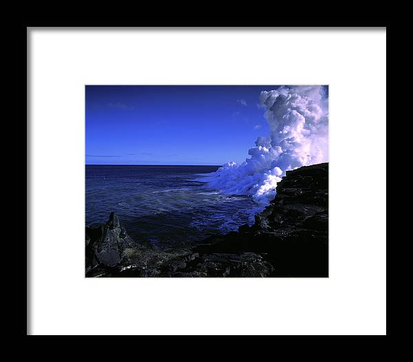 Molten Framed Print featuring the photograph Lava Flow by G. Brad Lewis