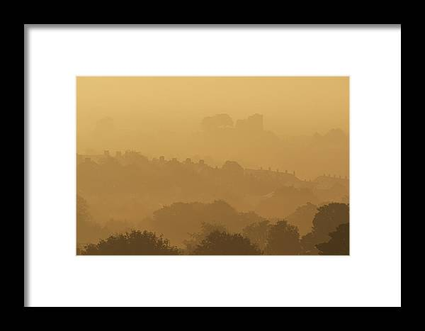 Framed Print featuring the photograph None by Ian Cumming