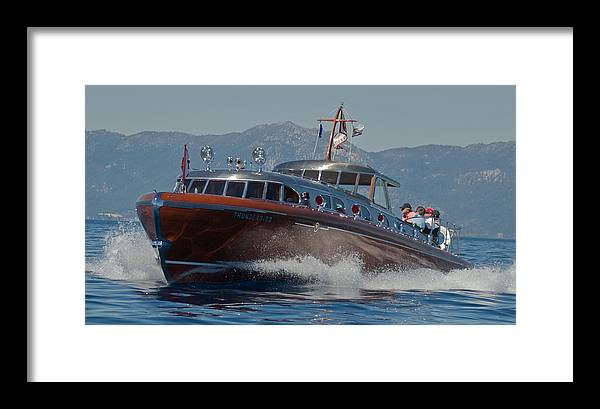 Lake Tahoe Framed Print featuring the photograph Thunderbird by Steven Lapkin