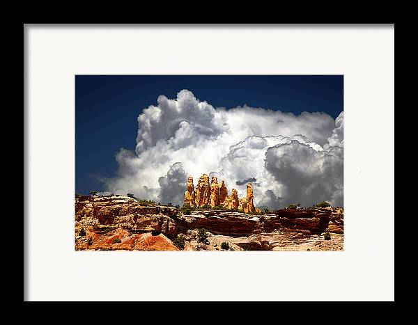 San Rafael Swell Framed Print featuring the photograph San Rafael Swell by Mark Smith