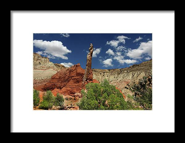 Southern Utah Framed Print featuring the photograph Kodachrome Basin by Southern Utah Photography